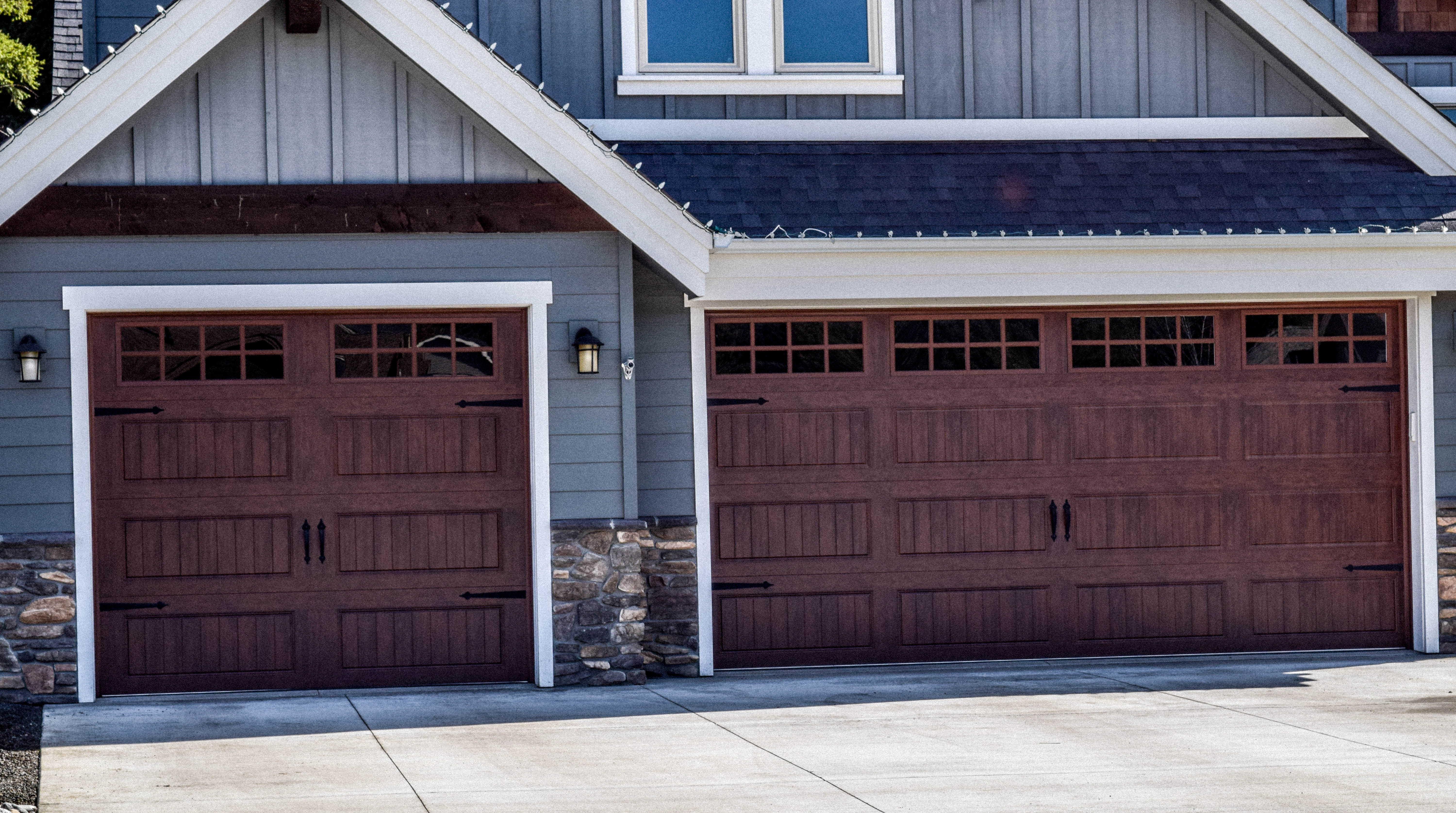 size double garage with standard up dimensions x awesome lovely ideas car windows door of design doors roll home counter two