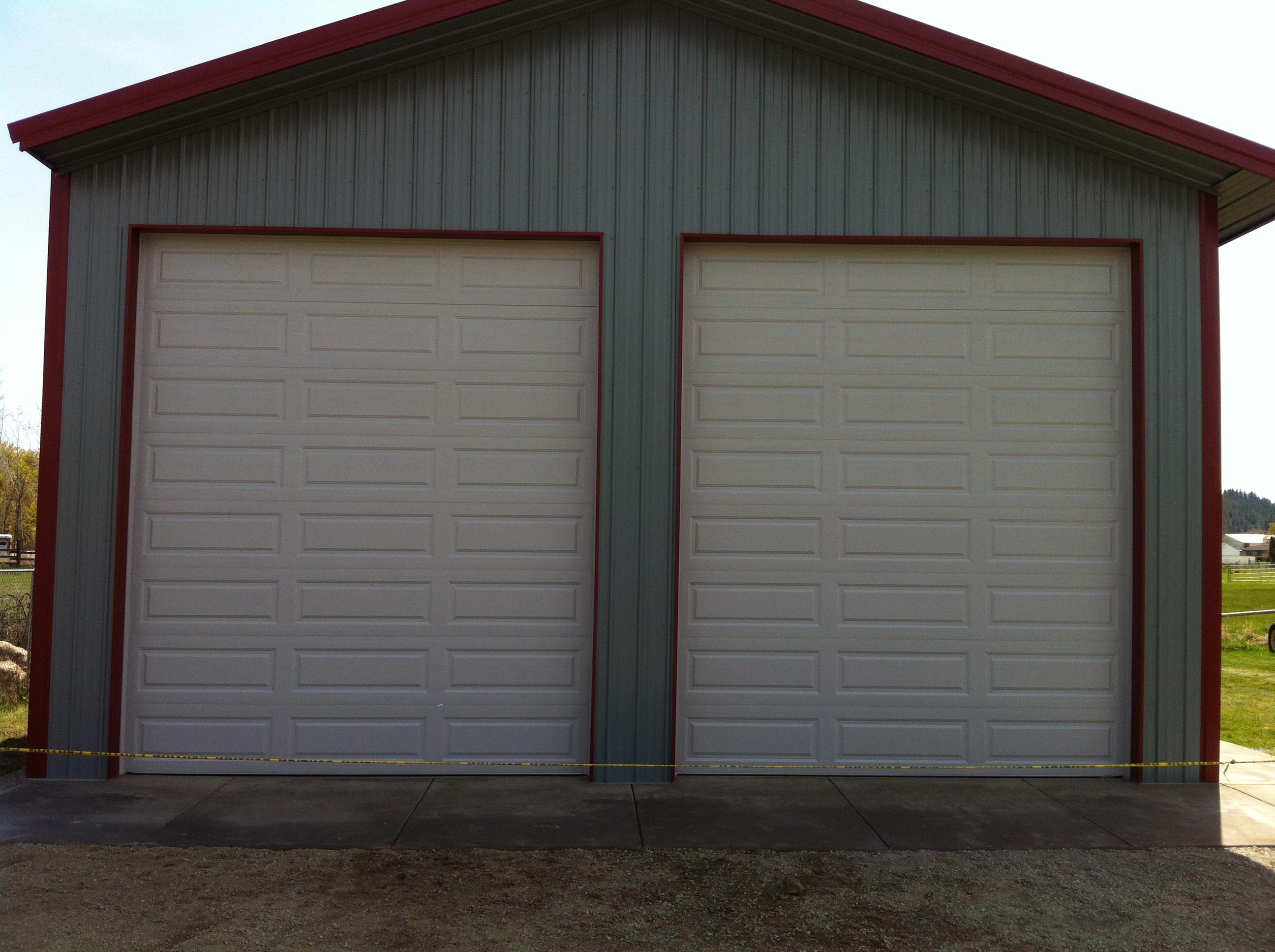 12x14 garage door dandk organizer for Garage design source