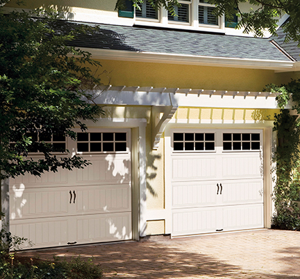 Residential garage door products clopay and liftmaster for Clopay dealer